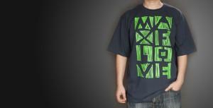 T-shirt MAXFLOVE szary