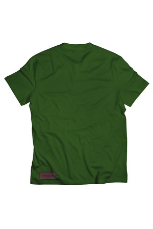 T-shirt One Line zielony